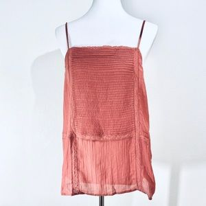 NEW HInge Rust Peach Camisole